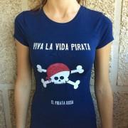 Camiseta colección Pirata Rosa – Vida pirata