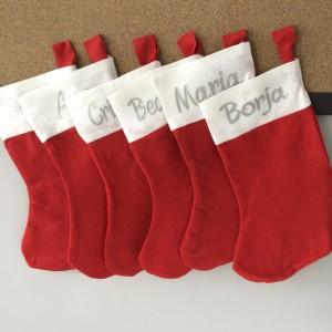 Calcetines Navidad personalizados