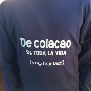 Camiseta manga larga niño personalizada - Colacao