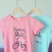 Camiseta personalizada niña – Flower power